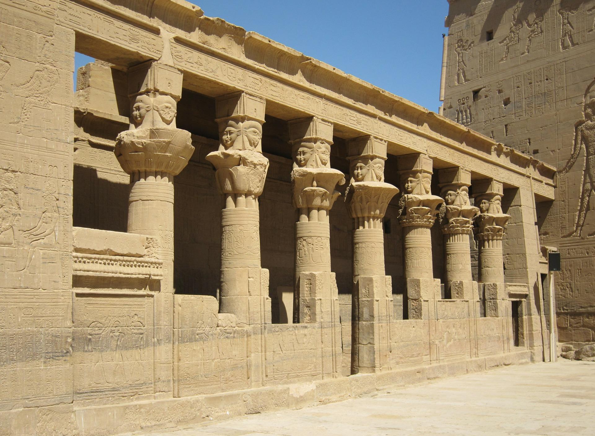 Ägyptische Bauten
