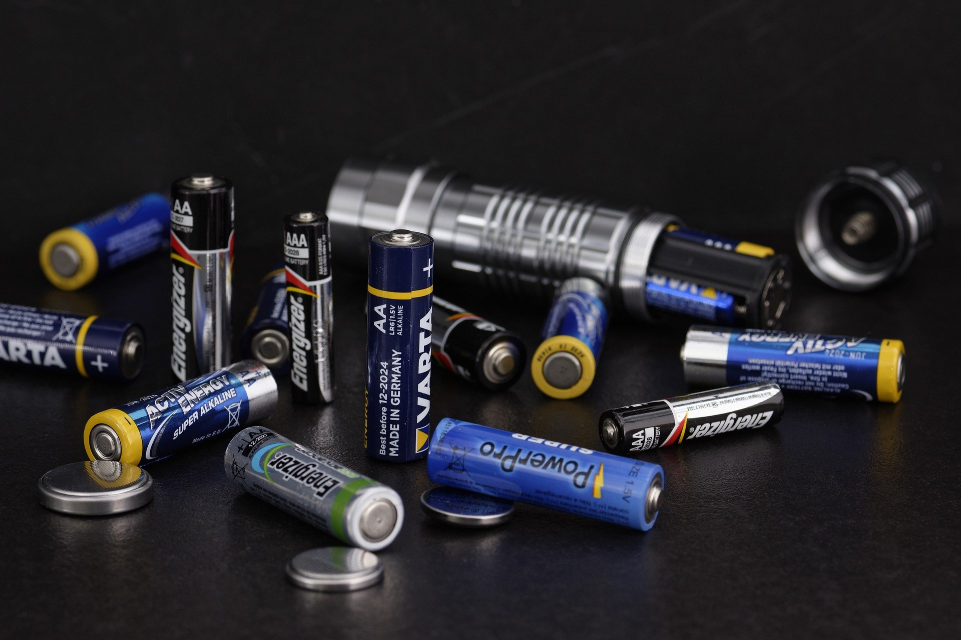 Batterien / Pixabay