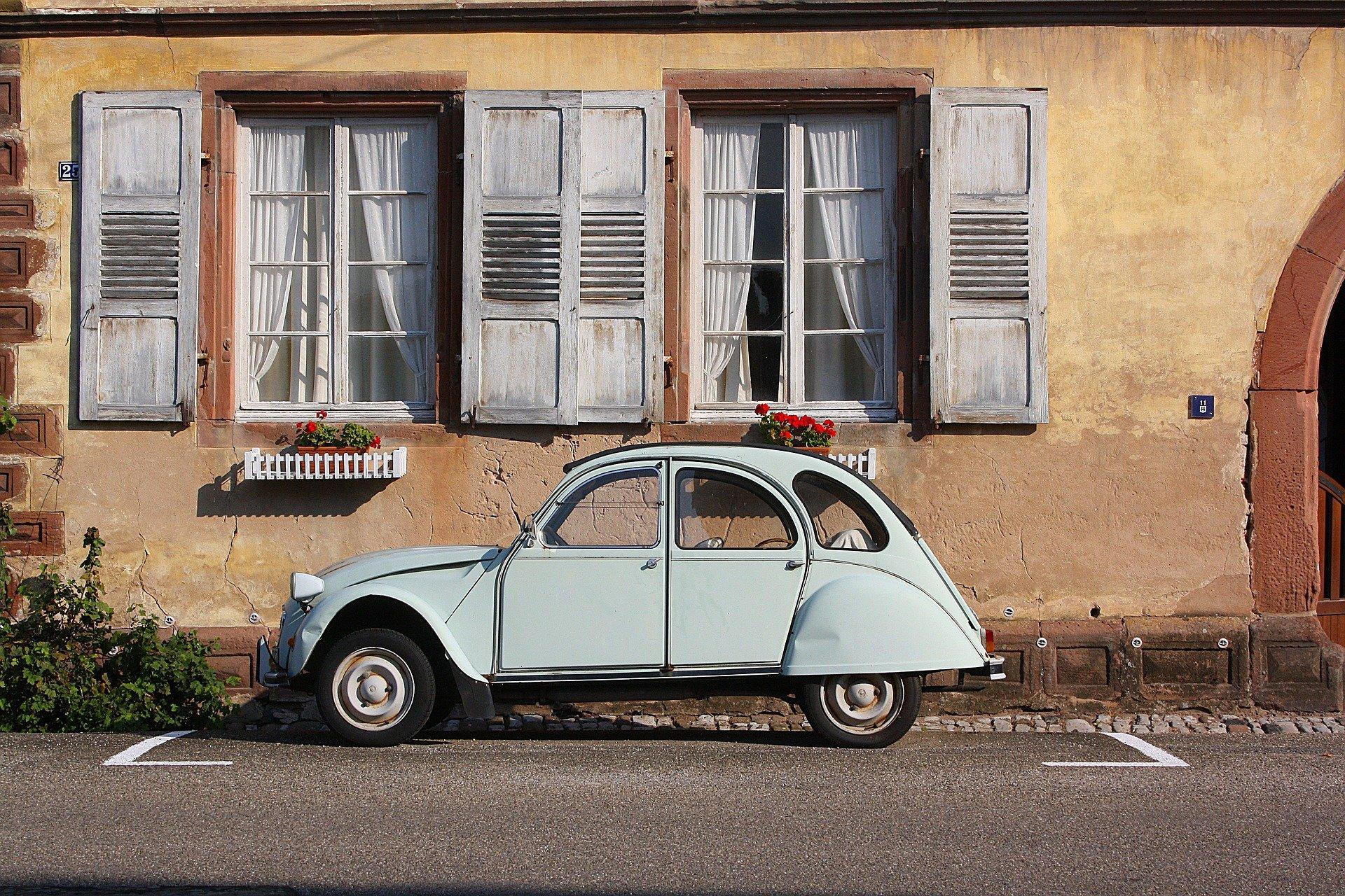 Citroën 2CV / Pixabay