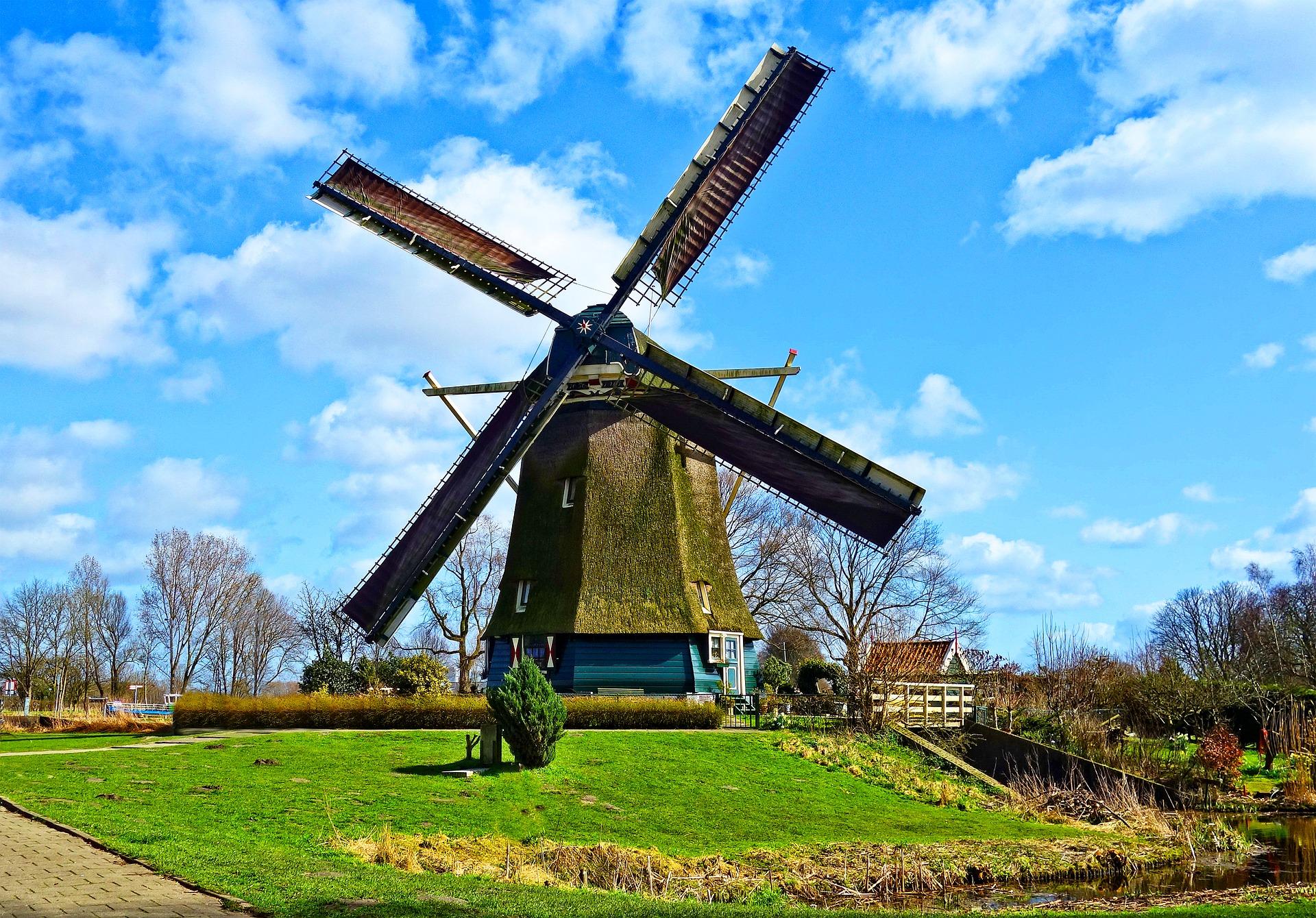 Niederländische Windmühle / Pixabay